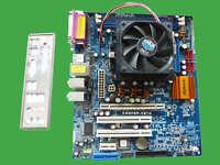 ASRock K8NF6P-VSTA REV G/A 1.02  Mainboard und AMD Sempron 1,8 GHz Prozessor