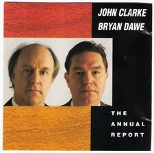 JOHN CLARKE & BRYAN DAWE The Annual Report CD 1991 Aussie satire comedy oz