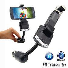 Manos Libres Transmisor Bluetooth MP3 FM GPS Coche para iPhone LG Samsung 4244