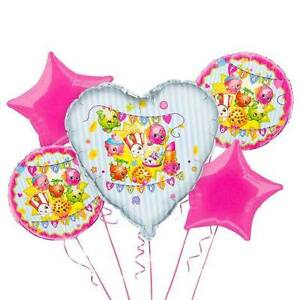 Shopkins Party Favor Birthday Bouquet Balloons