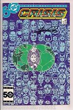 Crisis on Infinite Earths #5 Signed by George Perez W/COA 1st App Anti-Monitor
