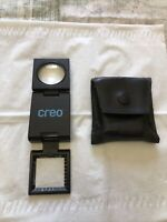 CREO Folding Pocket Viewer for Photography Slides With Case