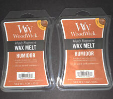 (2) WOODWICK Wax Melts HUMIDOR Scented / 3 Oz Each / Free Shipping