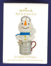 New 2010 Hallmark Ornament A Cupful of Wishes Nib