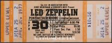 1  LED ZEPPELIN VINTAGE UNUSED FULL CONCERT TICKET 1977 Pontiac, Michigan