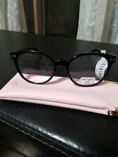 Kate spade reading glasses w/case +2.00 navy blue NWT
