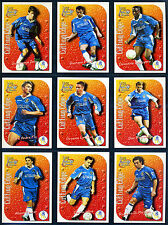 FUTERA - CHELSEA FC 1999 Cutting Edge - Nine Embossed Trading Cards sub-set
