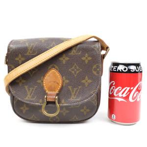 LOUIS VUITTON Saint Cloud Shoulder Bag Monogram Brown M51243