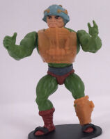 Vintage 1981 Masters of the Universe Complete Figure MOTU Man At Arms Soft Head