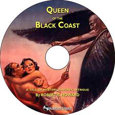 Queen of the Black Coast - Unabridged MP3 CD Audiobook in paper sleeve