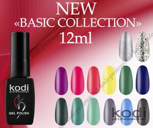 NEW BASIC COLLECTION 12ml. Kodi Professional Gel LED/UV Nail Polish Color French