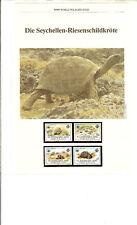 WWF, WNF Kapitel - Seychellen Riesenschildkröte, ZIL ELWANNYEN SESEL - ZES 1985