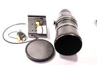 Carl Zeiss Jenga Lens DDR S: 1:2.8 F=180 + Hood & Cap's & Trigger Mount M42