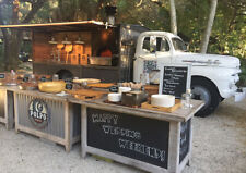 custom classic wood fired pizza truck draft beer food truck built to order