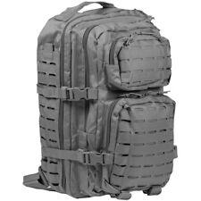 Mil-Tec US Assault Pack Grand Laser Cut Molle Plein Air Sac À Dos Urban Gris