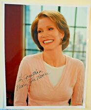 Authentic SIGNED Color Photo MARY TYLER MOORE AUTOGRAPH