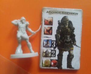 Kothian archer monolith games conan boardgame axe warrior figure and & card