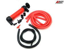 Fuel Oil Diesel Petrol Water Liquid Fluid Hand Syphon Siphon Pump Transfer Kit