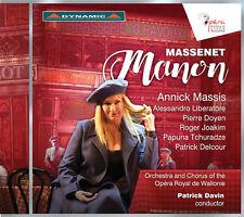 Massenet / Massis / Liberatore / Davin - Massenet: Manon [New CD]