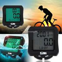 Waterproof Bicycle Bike Cycle Wired LCD Digital Computer Speedometer Odometer CM