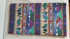 1.5 Yds Pine Brook Fabric By Jean Wells 100%Cotton, Mountain Lodge, Quilting, Cr