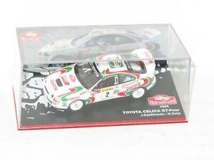 1/43 Toyota Celica GT-Four ST205 Castrol  Rally Monte Carlo 1995 #2 J.Kankkunen