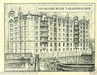 Germany Building store Hamburg TOBACCO HISTORY HISTOIRE DU TABAC IMAGE CARD 30s