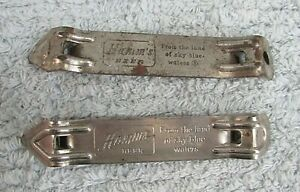 Two Hamm's Beer From Land of Sky Blue Waters Steel Bottle Can Openers FREE SH