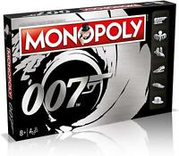 Winning Moves Monopoly James Bond 007 Edition Board Game WM-MONO-007-REF