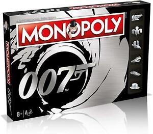 Winning Moves Monopoly James Bond 007 Edition Board Game WM-MONO-007-REF