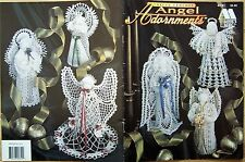 Thread CROCHET Patterns CHRISTMAS ANGEL ADORNMENTS Annie's Attic