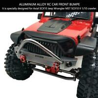 Alloy Front Bumper Mount Parts for Axial SCX10 Jeep Wrangler 1/10 RC Car Kits ❤L