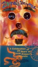 ZAPPA'S UNIVERSE A Celebration of 25 Years of Frank Zappa's Music VHS NEW