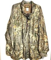 Vtg Remington Camo Hunting Jacket Mens 2XL