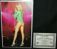 Debbie Gibson Sexy Autograph with COA (Excellent) Signed