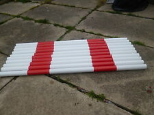 JOHNS AGILITY JUMP POLES X 9 TRAINING OBEDIENCE jump poles 100cm x 35mm TRAINING