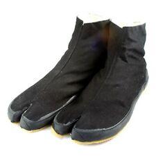 Ninja Tabi Zapatos Corto Tobillo Longitud Exterior Adulto Marcial Botas Pie Usar