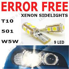 E36 2 AMPOULES VEILLEUSES LED QUADRI 4x3mm XENON BLANC BMW Z3