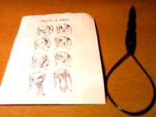 Haartwister -Haarschmuck- Haarspangen - 50 Stück - Kunststoff -Schwarz
