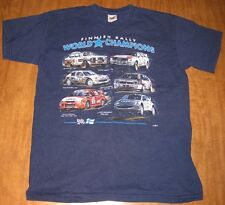 FINNISH RALLY WORLD CHAMPIONS small T shirt Marcus Gronholm WRC