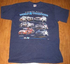 FINNISH RALLY WORLD CHAMPIONS small T shirt Marcus Gronholm WRC