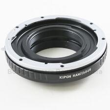 Kipon Mamiya 645 Mount Lens to Nikon F Mount Adapter D4 D800 D3200 D5100 D7000
