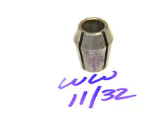 "USED UNIVERSAL ENGINEERING SERIES ""WW"" 11/32"" DOUBLE TAPER COLLET .3437"""