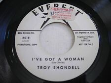 PROMO Troy Shondell I've Got a Woman / No Fool like an Old Fool 1962 45rpm VG++