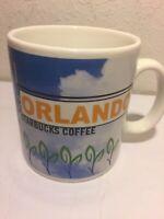 Vintage STARBUCKS ORLANDO FLORIDA 1998 20oz SPACE SHUTTLE GOLF MUG