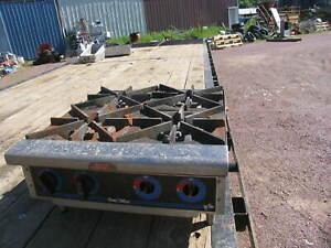 Star  - Star-Max® 4 Burner Gas Hot Plate natural gas