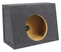 "Rockville Shallow Sub Box Enclosure For Rockford Fosgate P3SD2-8 8"" Subwoofer"