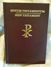 Latin / English The New Testament  Clementine Vulgate & Challoner Rheims