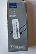 Unused Insignia NS-GG08500 8ft High Speed HDMI 1080p Full HD HDMI Cable - BLACK