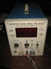 TELEPACIFIC ELECTRONICS CO. MODEL TPC-102-2A CAPACITOR TESTER